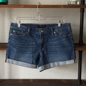 BANANA REPUBLIC | ROLL CUFF | DENIM SHORTS | SZ 10